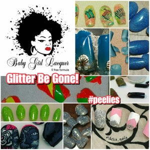 Image of Glitter Be Gone!/Poof! Be Gone!/ Hybrid Gel Top Coat