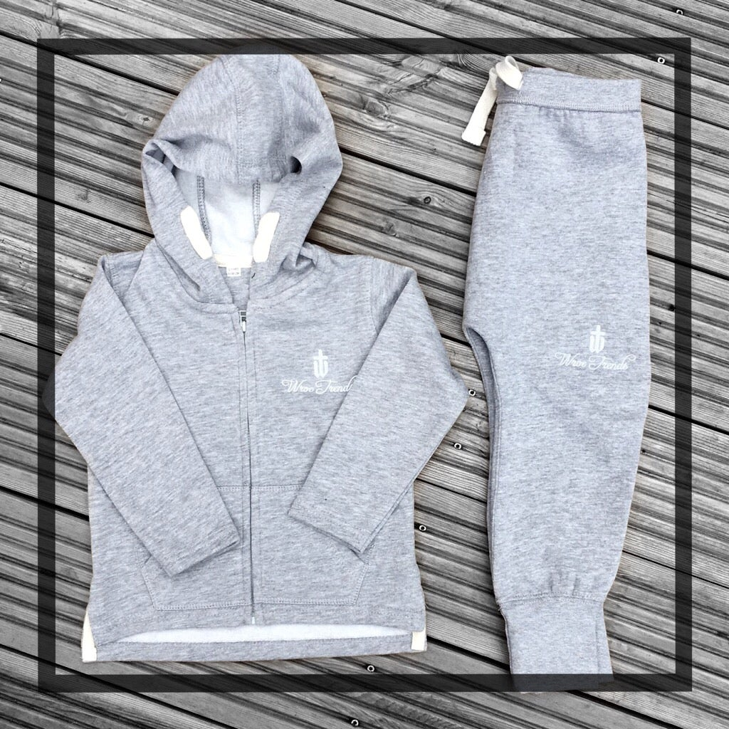 Image of BABY/TODDLER TRACKSUIT • GREY