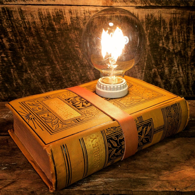 Image of Upcycled Book Lamp