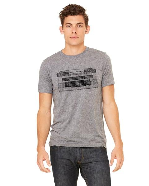 Image of Mens Typewriter Art T-shirt