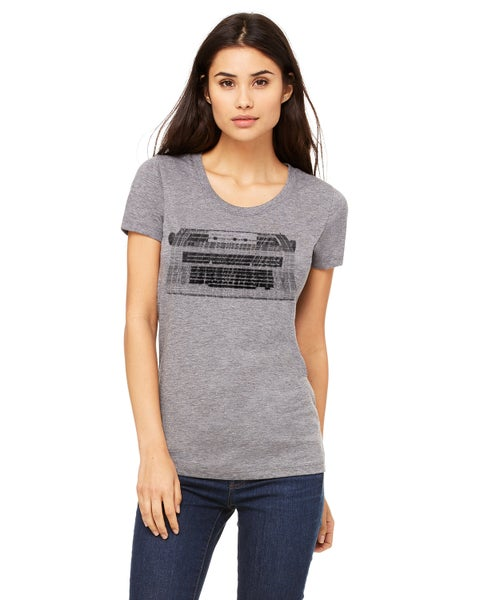 Image of Women Typewriter Art T-shirt