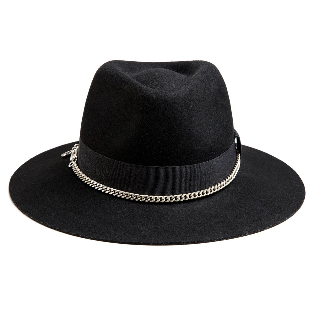 Image of BLACK or GREY FEDORA HUASO