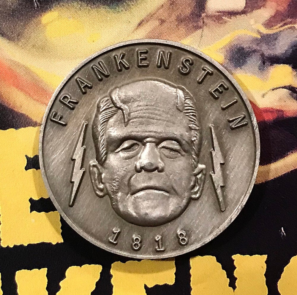 Image of Universal Monster's Frankenstein's Monster/Bride of Frankenstein Coin