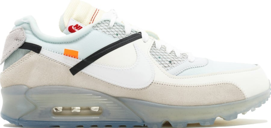 """Image of THE 10: NIKE AIR MAX 90 """"OFF-WHITE"""" Mens (FREE SHIPPING)"""