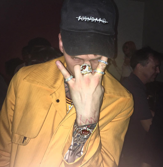 Image of MxM Boundaries  Dad Hat (As seen on MGK)