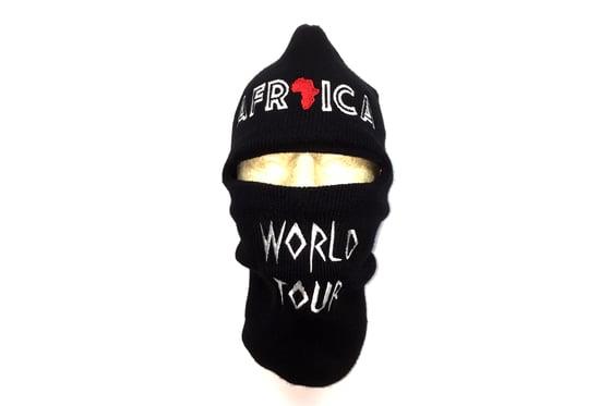 Image of World Tour Africa Ski Mask Black