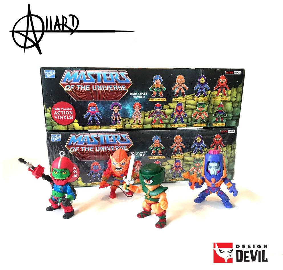 Image of Masters of the Universe Blind Box - Autographed