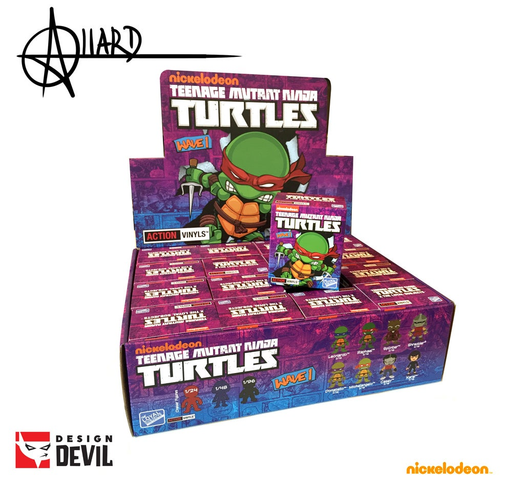 Image of Teenage Mutant Ninja Turtles Blind Box - Autographed