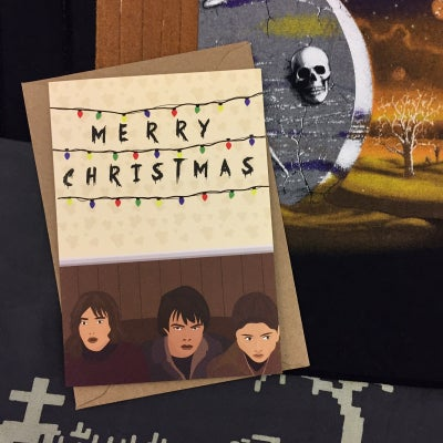 Image of Stranger Things Christmas Card