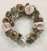 Image of Jennifer Collier: Paper Flower Christmas Wreaths