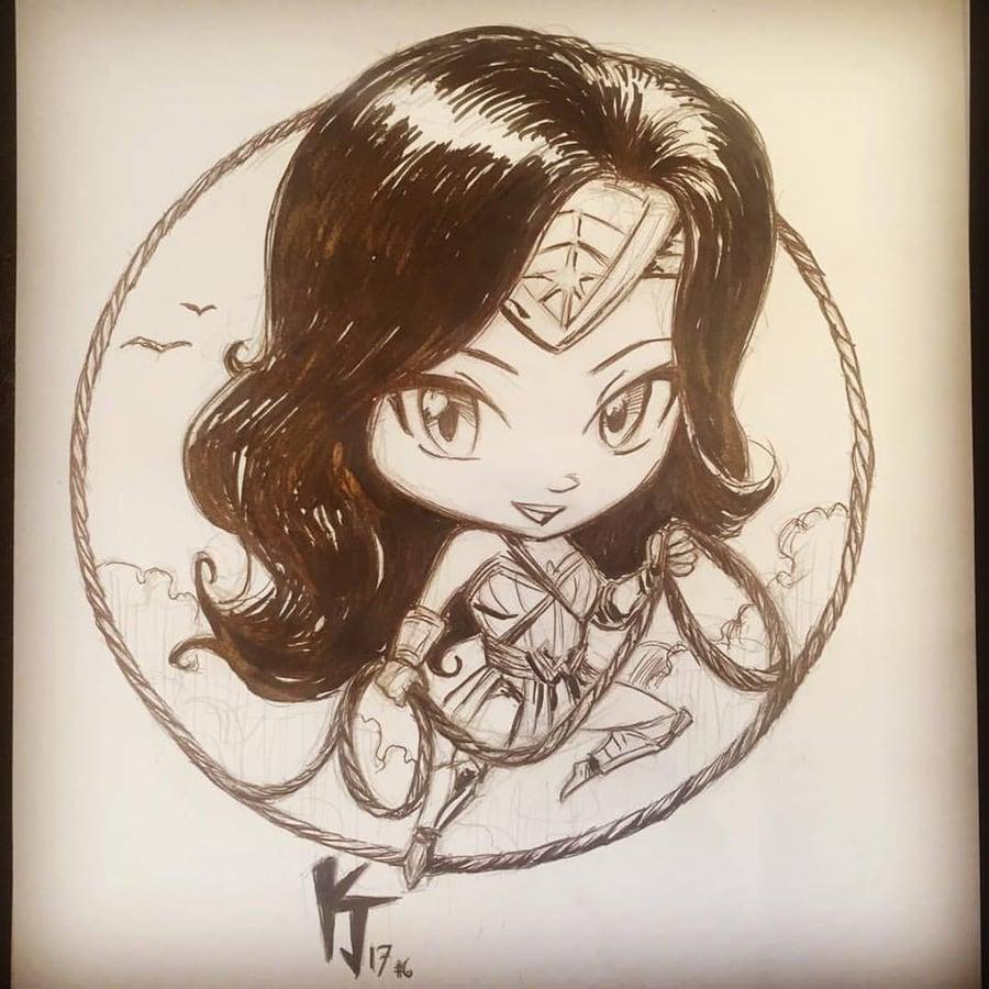 Image of Wonder woman Chibi