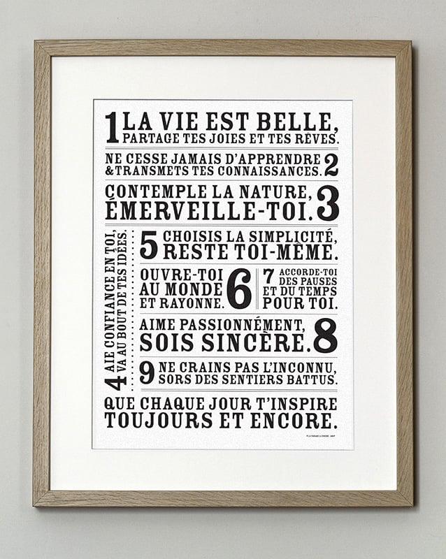 Image of Affiche La Vie est Belle