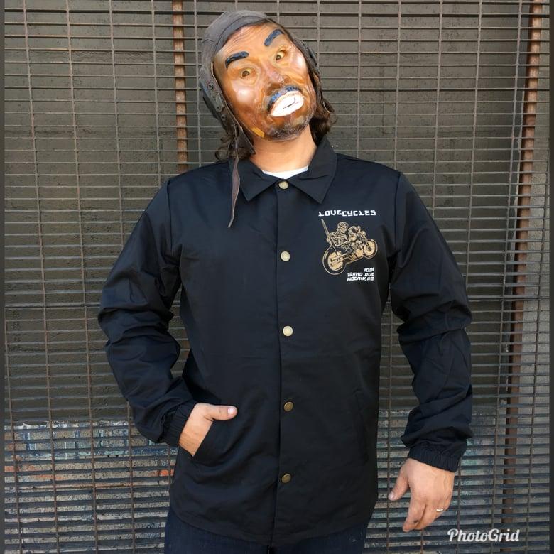 Image of Heart Mender Black Coach's Jacket