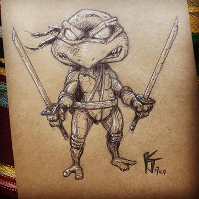 Image of Nasty Leonardo TMNT