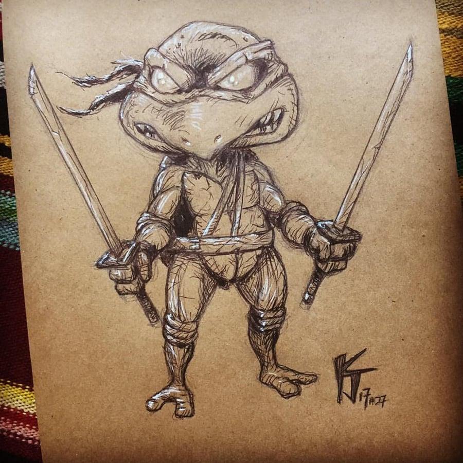 Image of Nasty Leonardo TMNT
