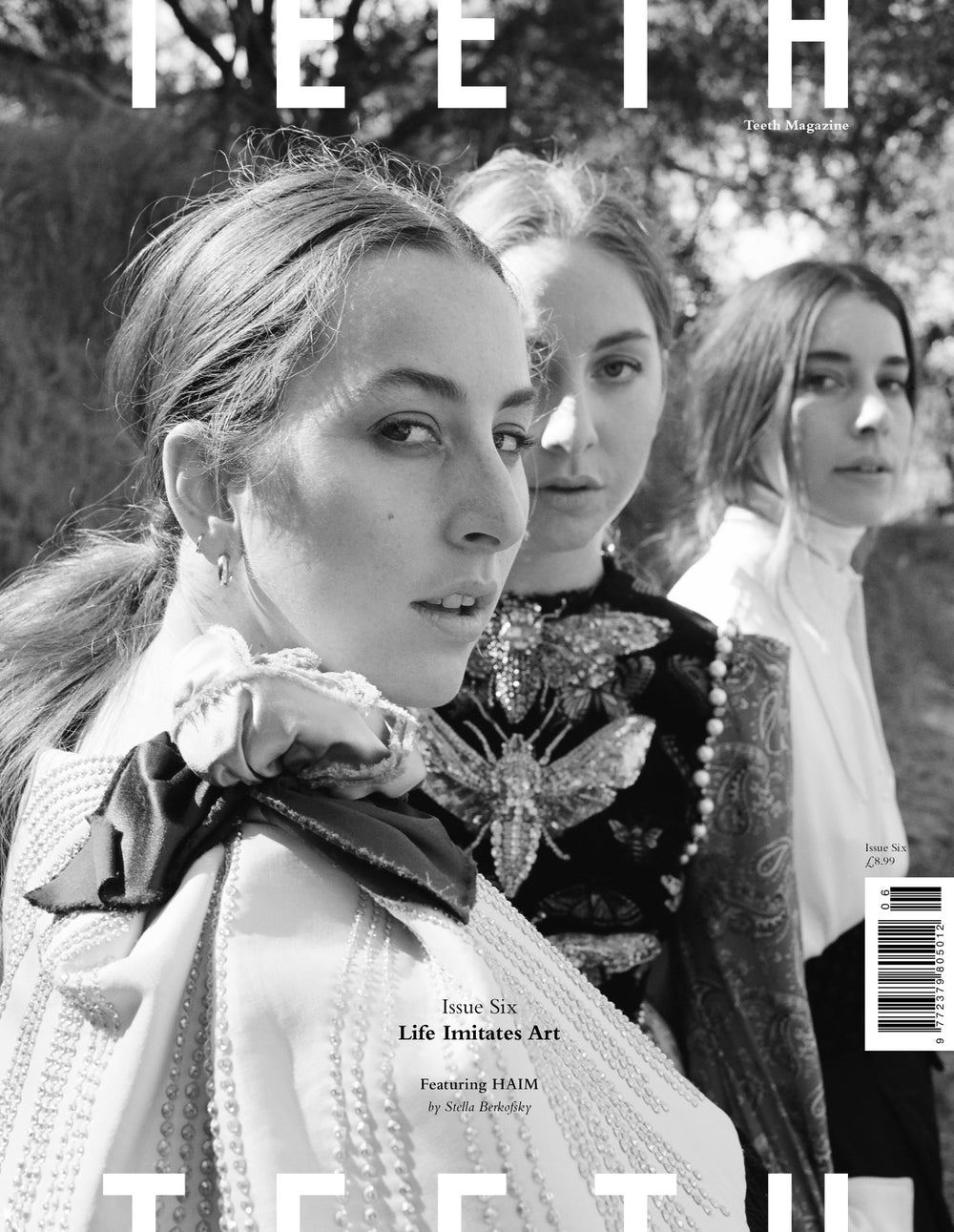 Image of Life Imitates Art Issue (HAIM Cover)