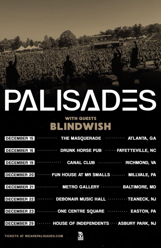 Image of 12/22 - ASHES w/ Palisades and Blindwish