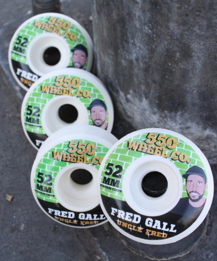 Image of Fred Gall Snacks Guest Wheel. 52mm 100A
