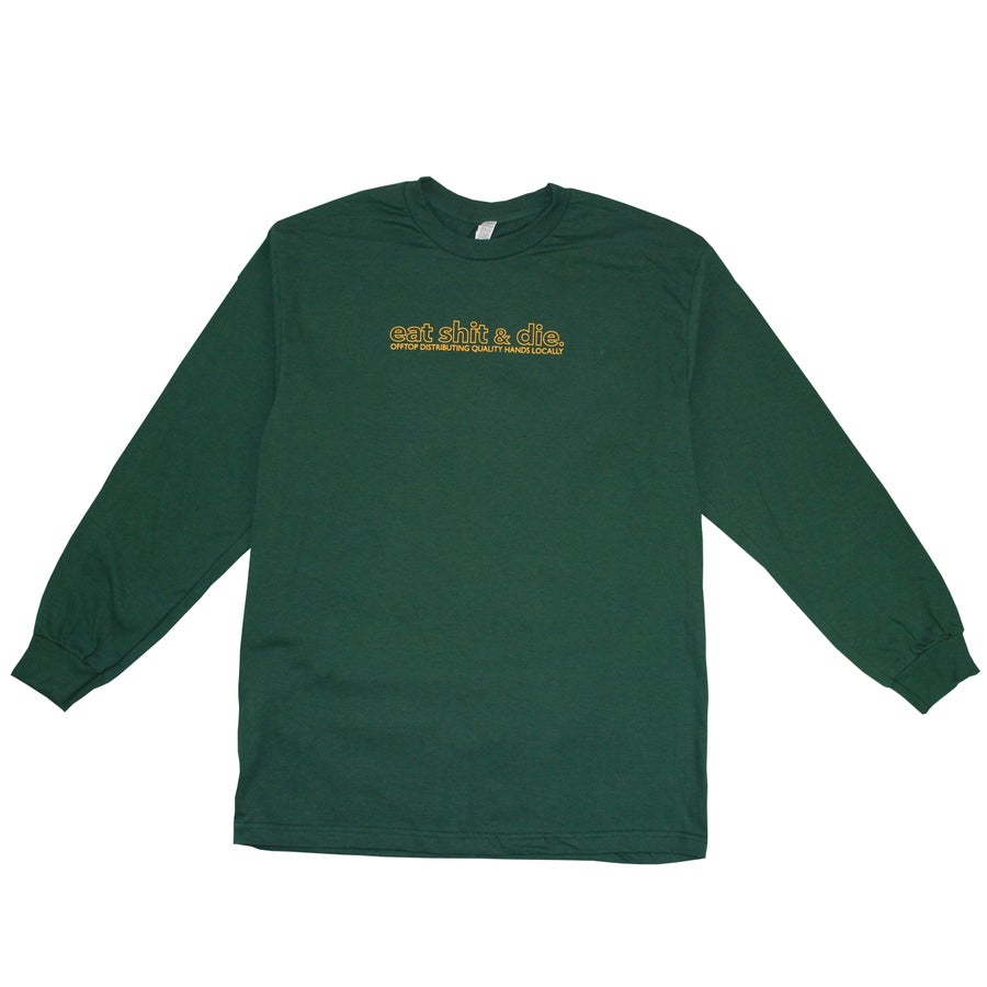 Image of ES&D Long Sleeve - Forest Green