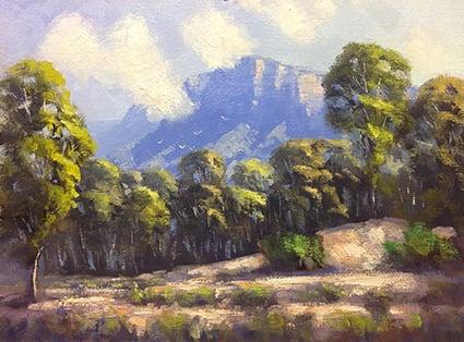 Image of Rising Mist, Glen Davis