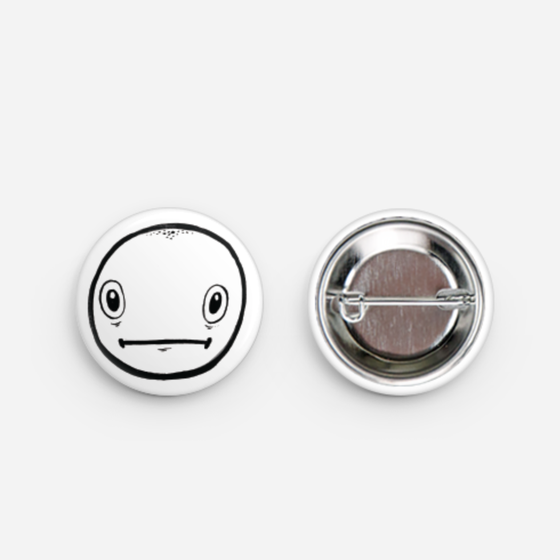 Image of Ned The Head Button Pin