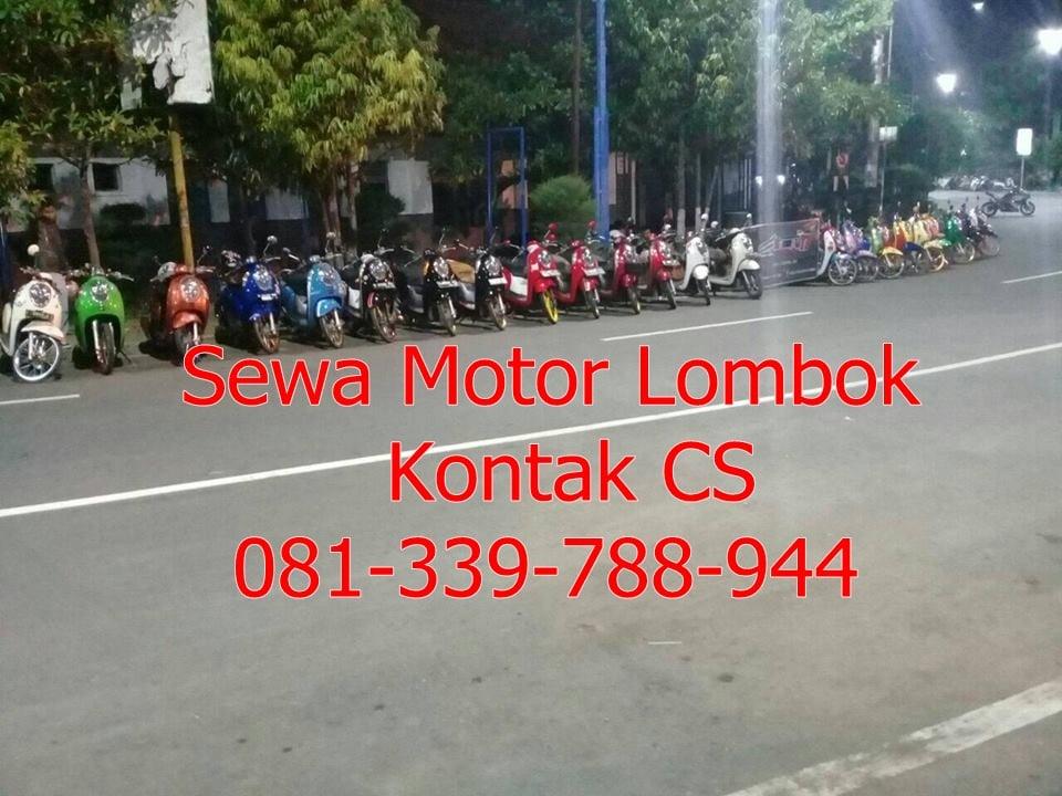 Image of Hub Penyewaan Motor Murah Lombok 081-339-788-944