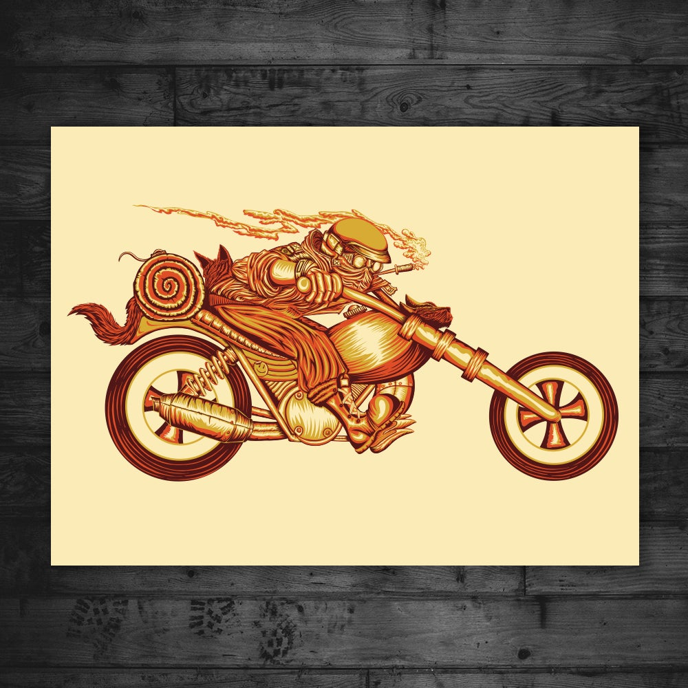 "Image of Rough Rider 18"" x 24"" Print"