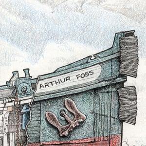 "Image of ARTHUR FOSS 15"" X 22"""