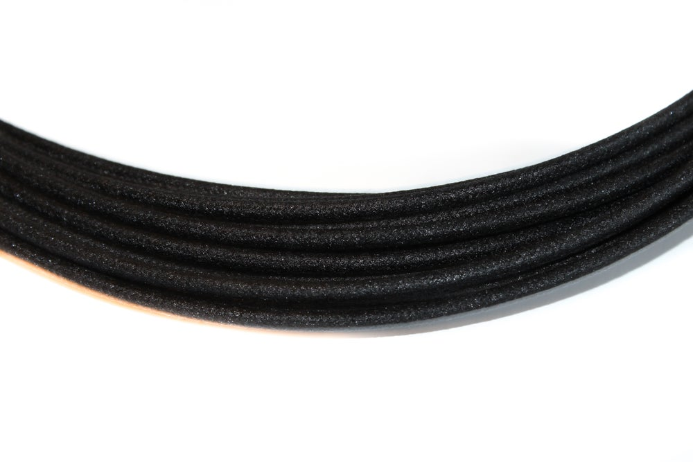 Image of Cotton Braided Wire - Black - 16 gauge