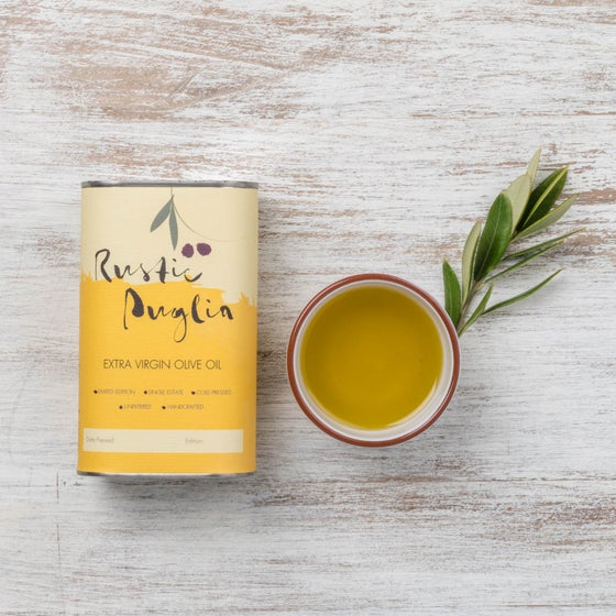 Image of Rustic Puglia Artisan Extra Virgin Olive Oil (250ml)