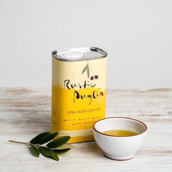 Image of Rustic Puglia Artisan Extra Virgin Olive Oil (500ml)