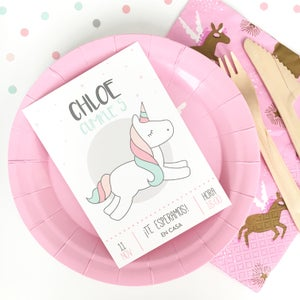 Image of Party Kit Unicornio Impreso