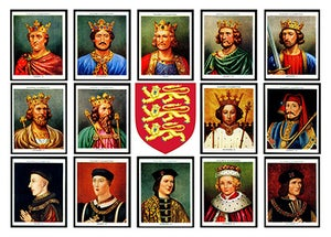 Image of PLANTAGENET KINGS OF ENGLAND
