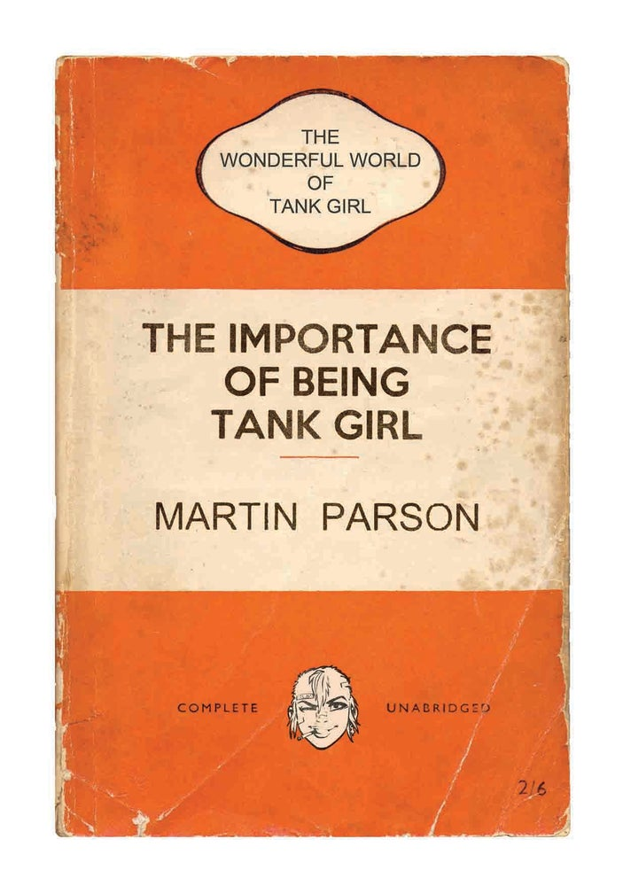 Image of SALE! 50% off - Wonderful World of Tank Girl Poster Magazine (with Target Patch!)