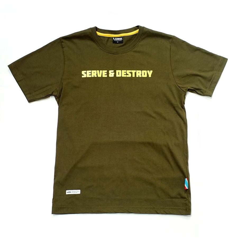 """Image of LANSI """"Home Court"""" T-shirt"""