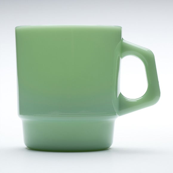 Image of Fire-King Stacking Mug - Jade Color