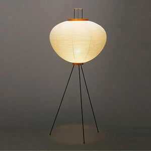 Image of Isamu Noguchi Light Sculpture AKARI 10A Floor lamp