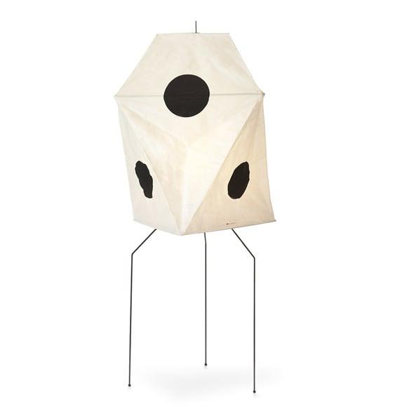 Image of Isamu Noguchi Light Sculpture AKARI UF3-Q