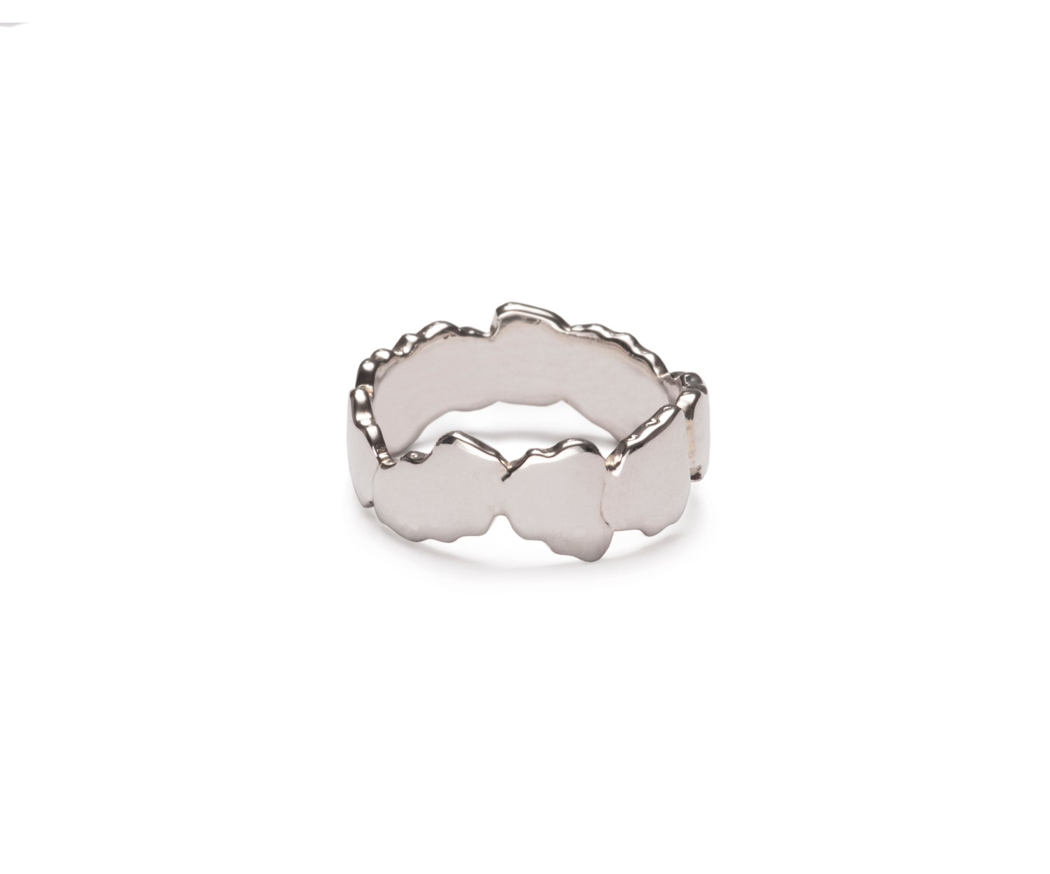 Image of Sterling Silver Cracked Ring