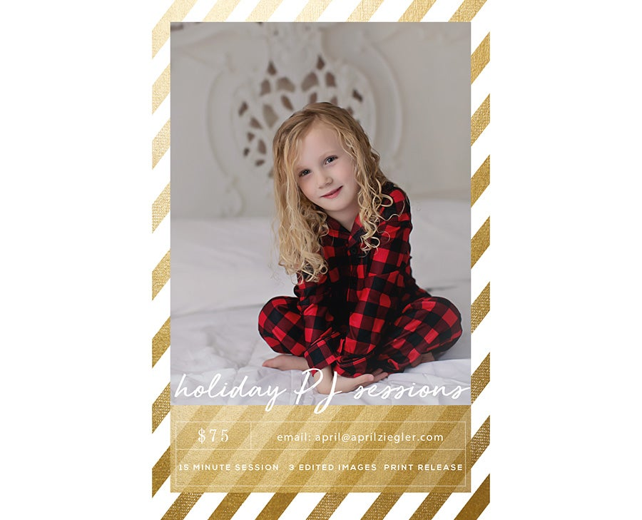 Image of HOLIDAY PJ MINIS - SATURDAY, DECEMBER 1