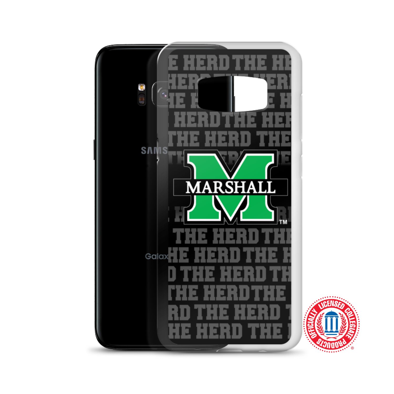 "Image of Marshall University™ ""The Herd"" Samsung Cases (Select model in options)"