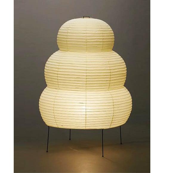 Isamu Noguchi Light Sculpture Akari 25n Floor Lamp Super