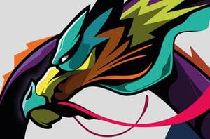 Image of Dragon Art Print