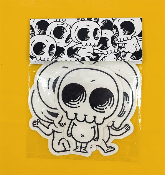 Image of Skully Sticker Pack 2