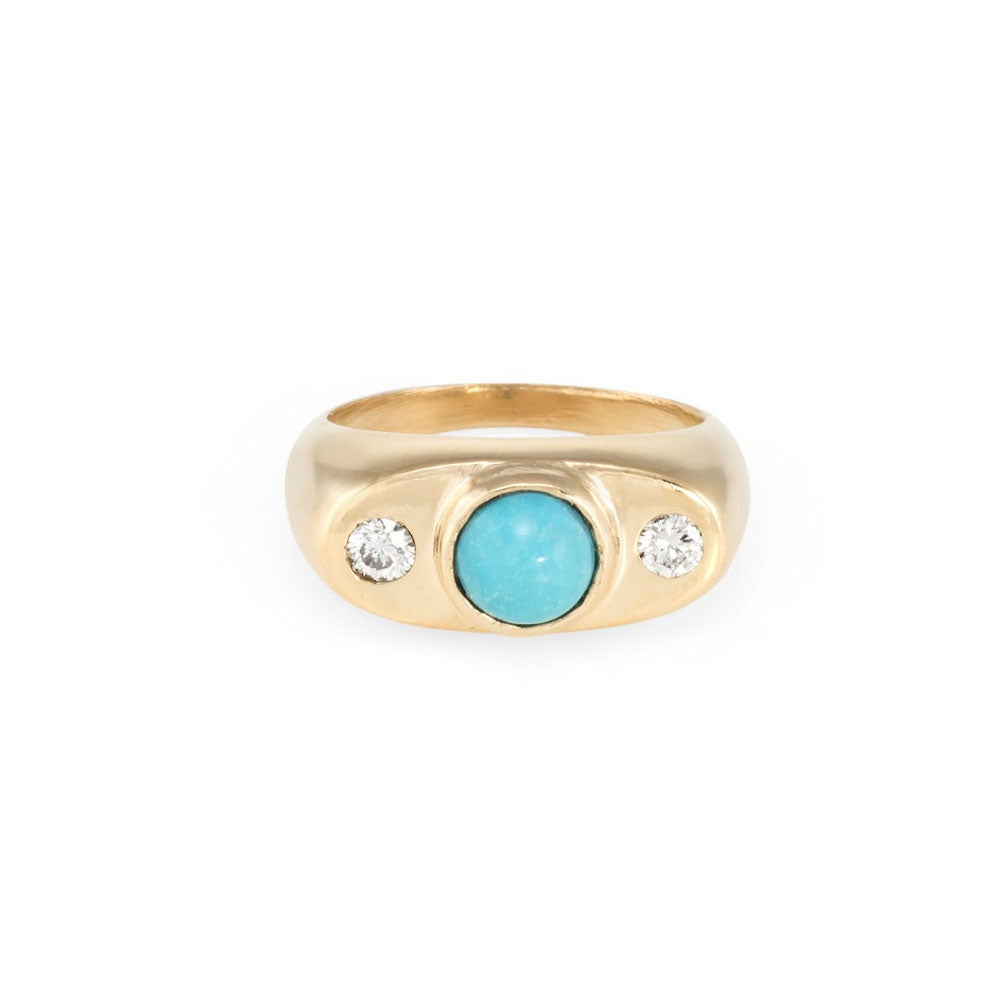 Image of Turquoise Augusta Ring