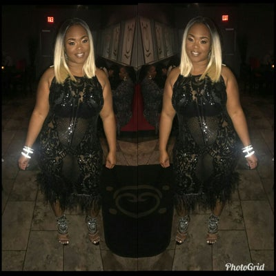 Sweet Black Dress - Plus Size Fashionz