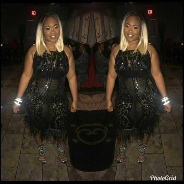 Sweet Black Dress - Plus Size Fashionz