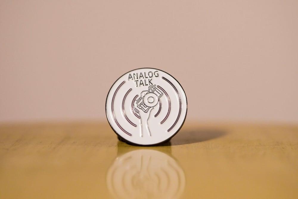 Image of Analog Talk Enamel Pin