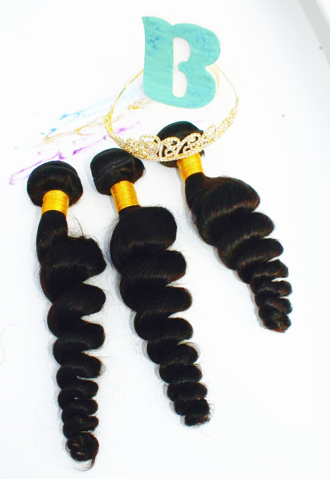 Image of Brazilian Loose Wave 3 Bundles Deal