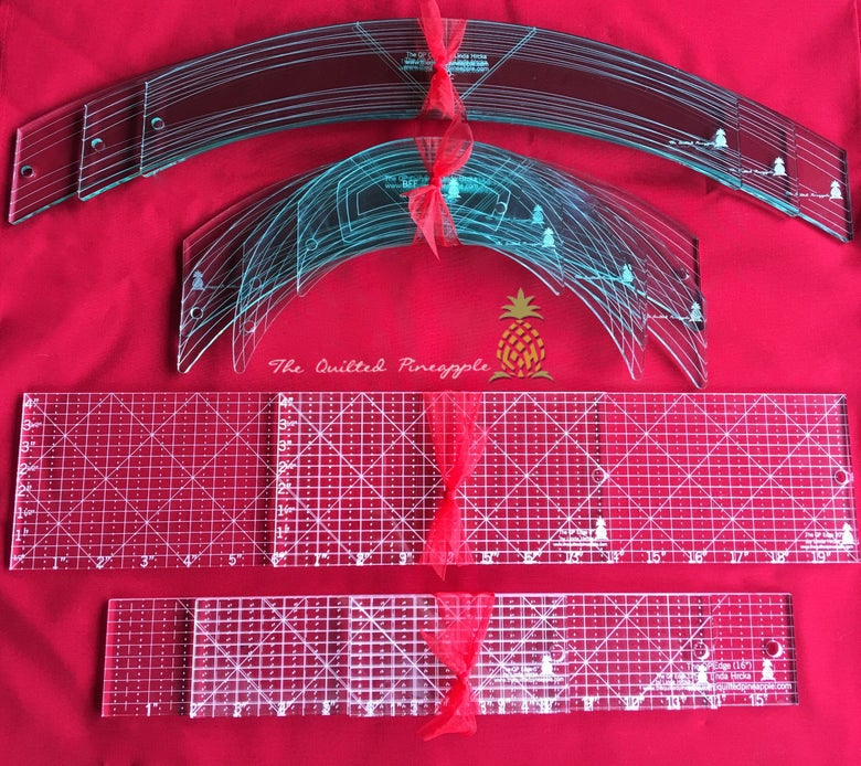 Image of Ultimate Set I Bundle- 3 Big Curves, Original 6 QP Curves, 2 Fat & 3 Edge Straight Rulers